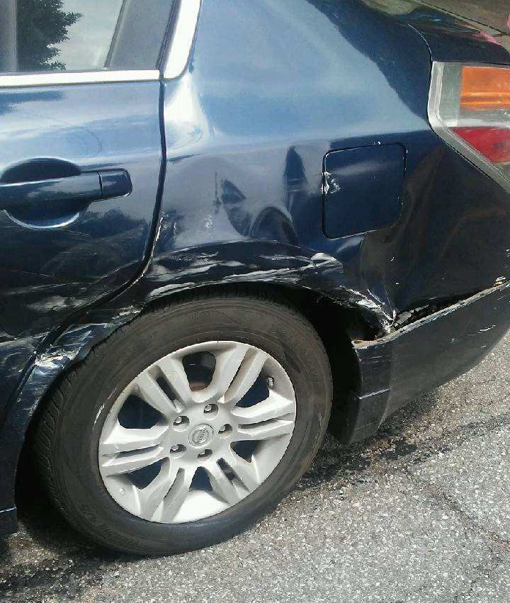 Marcia Car Damage