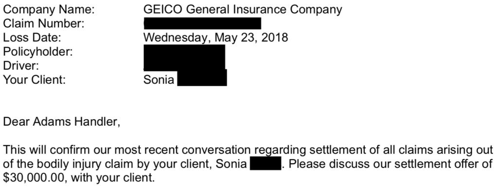Sonia Offer